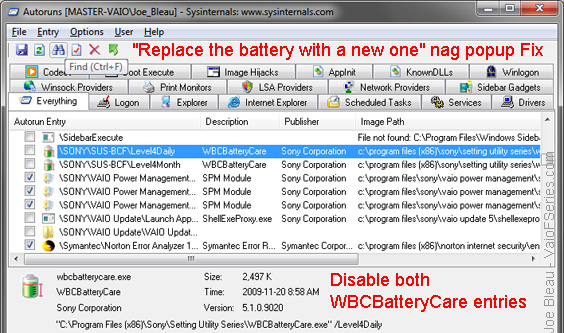 VAIO F Series Battery Replacement - Third Party Alternative