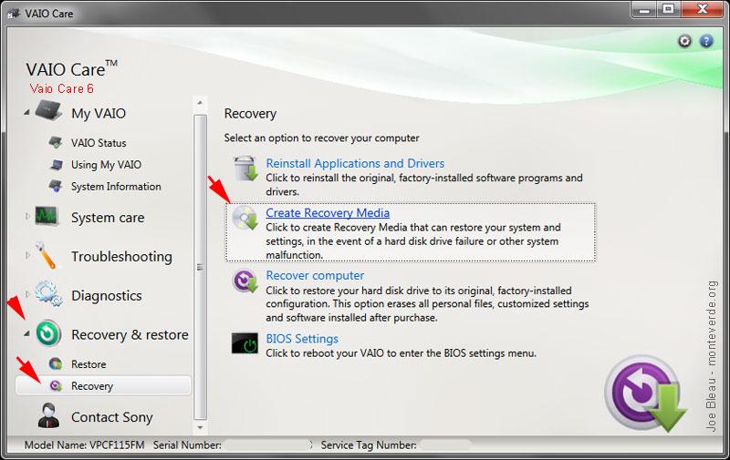 Vaio update windows 10